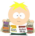 Open jacket butters