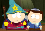 Cartman zeigt Neuem den Stab