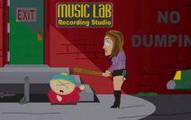 7x5 Cartman and Jennifer Lopez Fight