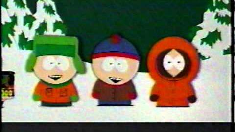 First South Park Commercial before series premiere, 1997