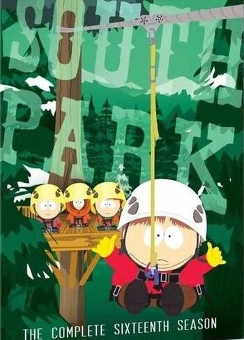 South Park Season 16 DVD - Cópia
