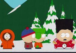 1x13 Black Cartman