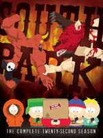 South Park Season 22 DVD Cover