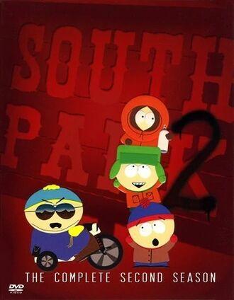 South Park Season 2 DVD Cover