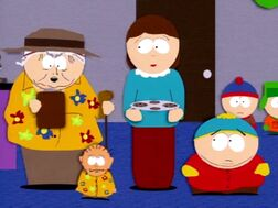 1x13 Who is Eric Cartman's father