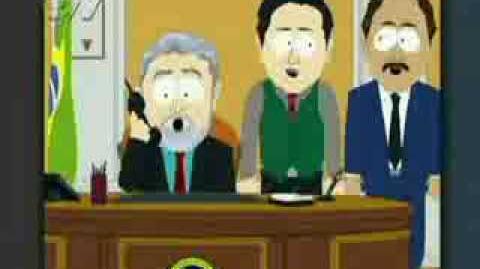 Lula aparece em South Park