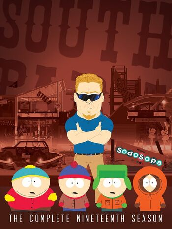 South Park Season 19 DVD