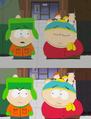 Cartman eye bat