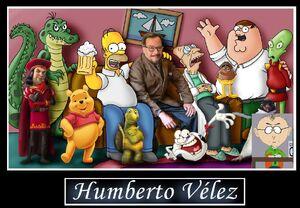 Humberto velez y sus personajes