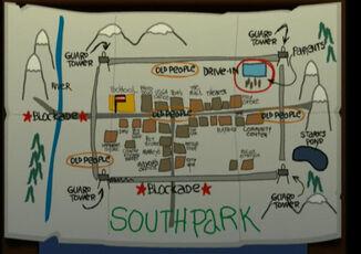 Mapa de South park