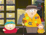 Cartman, el dr. Mephisto y Kevin