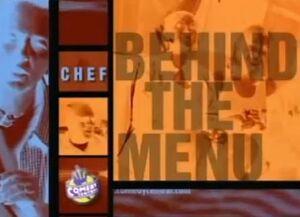 Ayuden a Chef Detrás del Menú