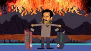 Saddam Hussein resucitaod