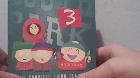 South Park Season 3 Boxset dvd Review