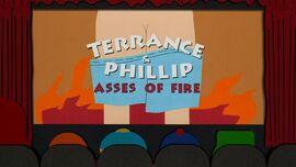 Terrance y phillip culos de fuego