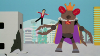 Brian boitano vs rey robot