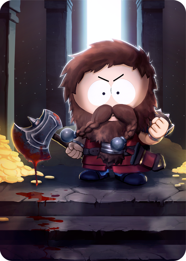 dwarf king clyde south park phone destroyer wiki