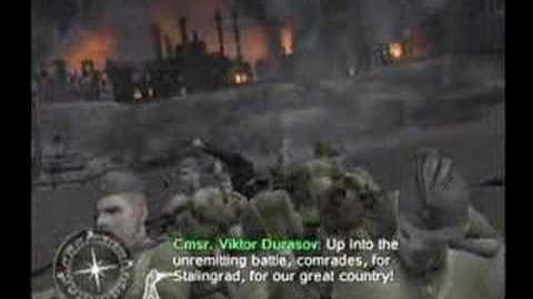 Call of Duty Finest Hour - Stalingrad Intro