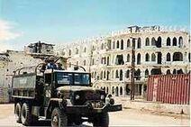 Convoy trip in Mogadishu