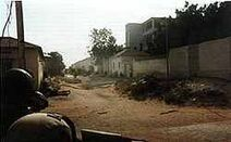 250px-Black Hawk Down Rangers under fire October 3, 1993