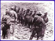 Afgan prisoners in Vardak 1987