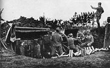 Serbian Artillery WW1
