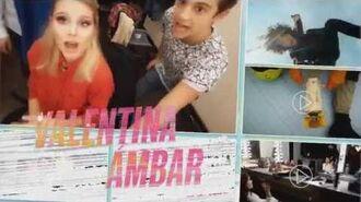 Achter De Schermen met Valentina