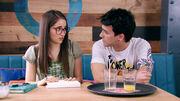 Nina y Pedro