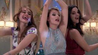 Ámbar, Delfina y Jazmín cantan Chicas así