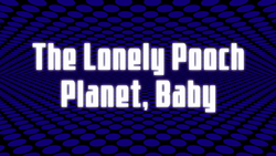 Space Dandy Episode 8 Title Card