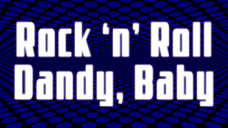 Space Dandy Episode 20 Title Card