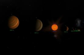 Proxima-Centauri-System Übersicht