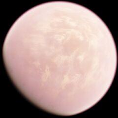 Blekiur before its failed terraforming