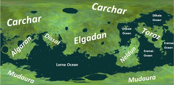 Lipna Named Map