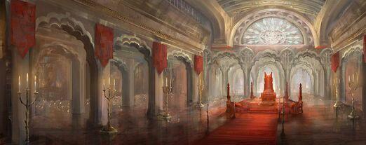 High Teocracy Throne