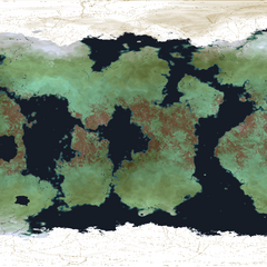 Map of Velanos' surface.