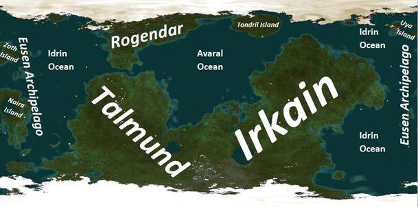 Taukan map with names