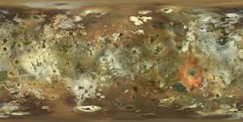 Io Oberfläche