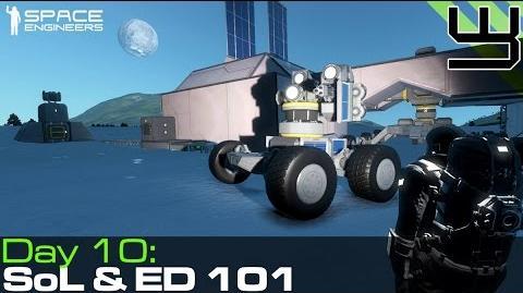 Video - Space Engineers - Group Survival 7 - ED 101 & Signs