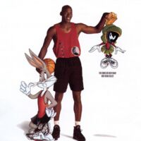 nike shorts with bugs bunny