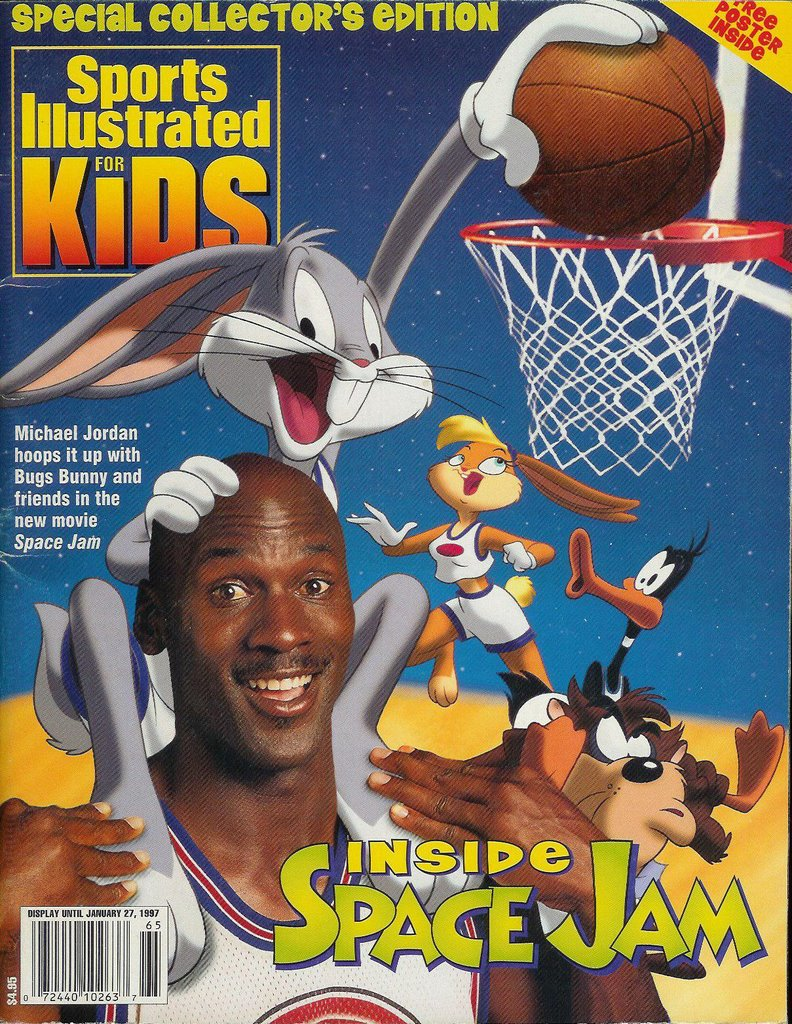 Sports Illustrated For Kids Space Jam