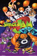 Space Jam Wall Poster