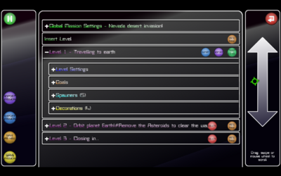 Sr mission editor level overview