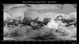 Map of Titan - April 2011