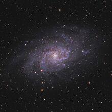 Triangulum Galaxy 1