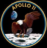201px-Apollo 11 insignia-1-