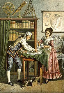 Sir William Herschel and Caroline Herschel. Wellcome V0002731 (cropped)