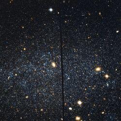 Leo A Hubble WikiSky