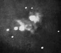 Henry Drape Orion nebula 1880 inverted