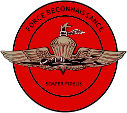 US Marine Corps Force Reconnaissance Insignia svg